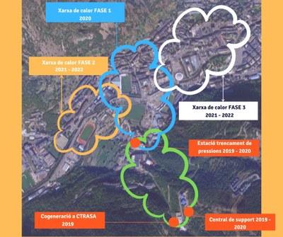 Mapa fases planta comella