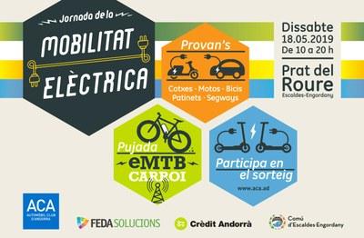 El Comú d'Escaldes-Engordany, FEDA, el Crèdit Andorrà i  l'Automòbil Club d'Andorra presenten la 6a edició de la  Jornada de la Mobilitat Elèctrica